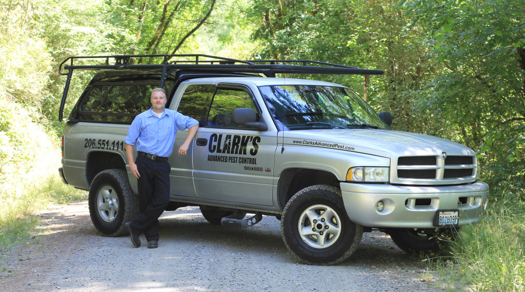 Luke Clark, Owner and Operator of Clark's Advanced Pest